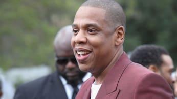 Jay Z at a pre-Grammy brunch.