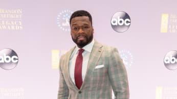 50 Cent arrives at NATPE Miami 2020