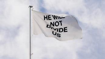 LaBeouf, Rönkkö & Turner's HWNDU flag