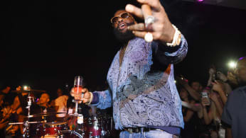 Rick Ross gives surprise performance as APEX Social Club.