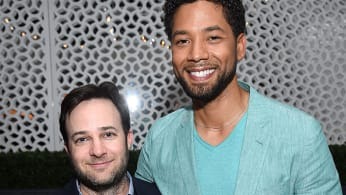 Danny Strong and Jussie Smollett