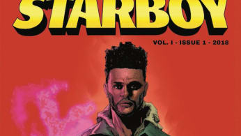Weeknd Starboy comic