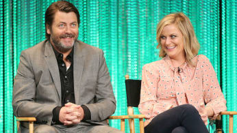 Nick Offerman Amy Poehler
