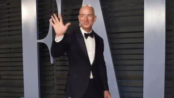 Jeff Moon Man Bezos