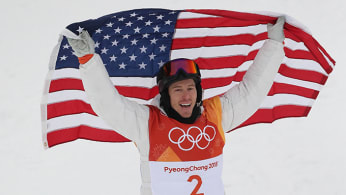 This is a photo of Shaun White.