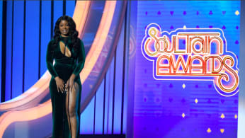Ari Lennox speaks onstage at the 2019 Soul Train Awards