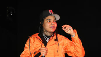 Young M.A performs at the The Fader Fort