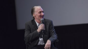 Bill Maher attends the Los Angeles Premiere of LBJ.