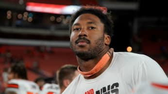 Myles Garrett #95 of the Cleveland Browns