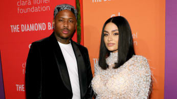 YG and Kehlani attend the 5th Annual Diamond Ball