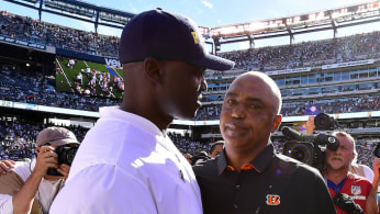 Todd Bowles, Marvin Lewis