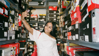 Blac Chyna Sneaker Shopping