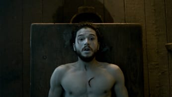 Kit wakes up in 'Game of Thrones.'