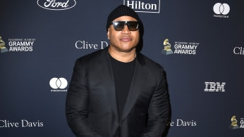 LL Cool J arrives at the Pre-GRAMMY Gala and GRAMMY Salute