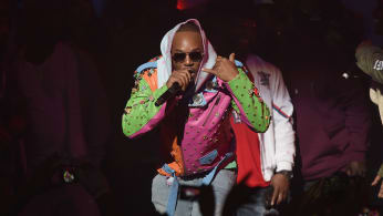 Cam'ron performs at Spotify's RapCaviar Live in New York