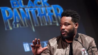 Ryan Coogler attends the 'Black Panther' BFI preview screening.