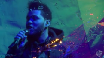 "This is The Weeknd performing ""Starboy"" and ""I Feel It Coming"" on 'The Tonight Show.'"