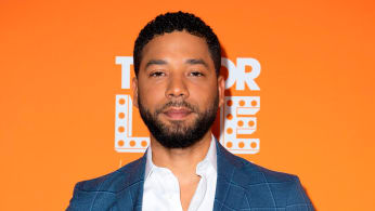 Jussie Smollett attends the Trevor Live Los Angeles Gala 2018