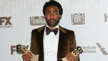 Donald Glover attends the FOX and FX's 2017 Golden Globe Awards