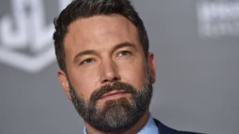 Ben Affleck arrives at the premiere of 'Justice League'