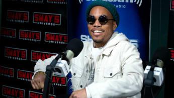 Anderson Paak visits SiriusXM Studios