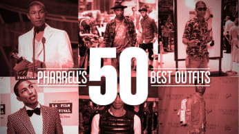 Pharrell's 50 Best Outfits