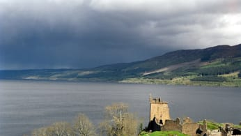 This is a photo of the Loch Ness.