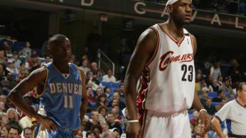 LeBron James and Earl Boykins