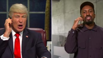 "Chris Redd, Alec Baldwin ""Saturday Night Live"" Season 45 Premiere."