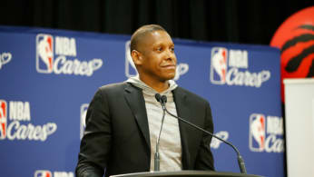 Masai Ujiri, President of the Toronto Raptors