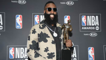 James Harden MVP NBA Awards 2018 Santa Monica