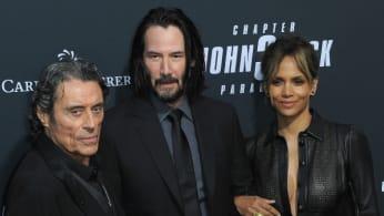 Ian McShane, Keanu Reeves and Halle Berry
