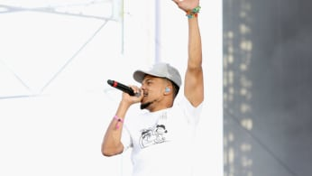 Chance The Rapper performs onstage during the 2018 Coachella