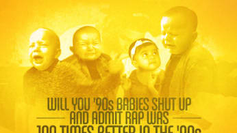 90s Babies Admit Rap Was Better in 90s