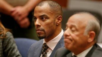 Darren Sharper faces 20-year sentence in Los Angeles.