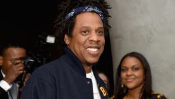 Jay-Z attends The Broad Museum celebration