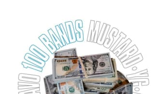 "Mustard ""100 Bands"" f/ 21 Savage, YG, Meek Mill, Quavo"