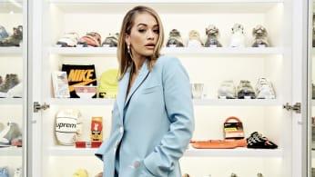 Rita Ora Sneaker Shopping