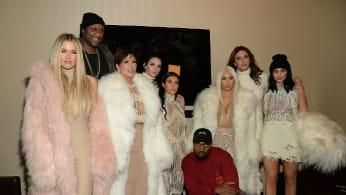 Kardashians Jenners Kanye West