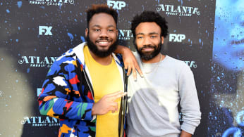 Stephen and Donald Glover at an 'Atlanta' event.