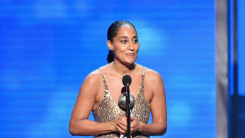 Tracee Ellis Ross accepts the Outstanding Actress in a Comedy Series NAACP Image Award