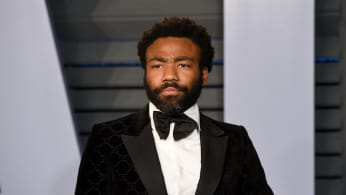 Donald Glover attends the 2018 Vanity Fair Oscar Party.