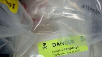 Fentanyl label