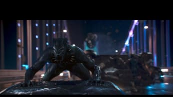 The 'Black Panther' car scene