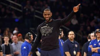 LeBron James Cavs Knicks Madison Square Garden 2017