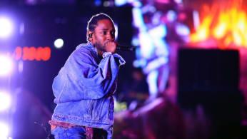 Kendrick Lamar at Coachella