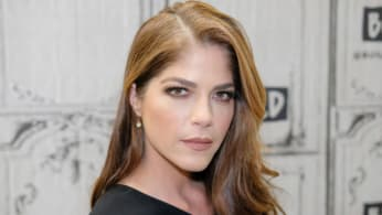 Selma Blair attends the Build Series