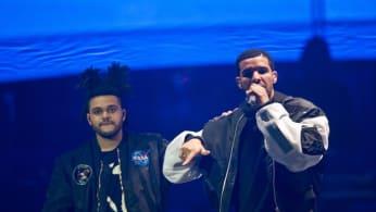 Weeknd and Drake