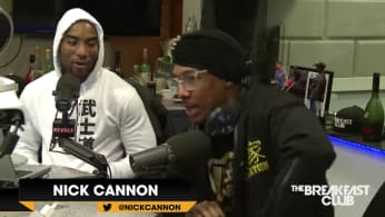 This is Nick Cannon's 'Breakfast Club' interview.