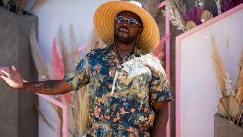 Schoolboy Q is seen at Revolve Festival during Coachella Festival.